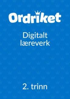 Ordriket 2. trinn : Digital elev : norsk for barnetrinnet